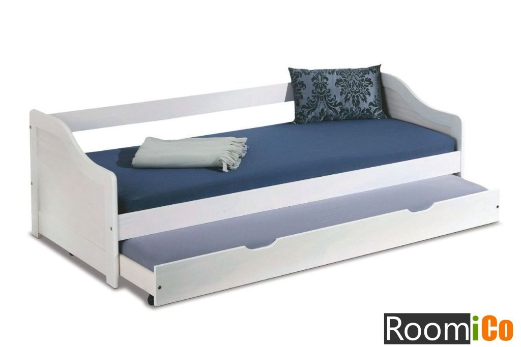 Детская кровать с дополнительным выдвижным спальным местом
