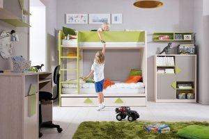 Детская двухэтажная кровать Strzalka