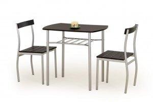 Стол и стулья Lance - венге